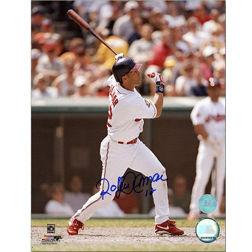 Roberto Alomar Cleveland Indians Autographed 8x10 Photo