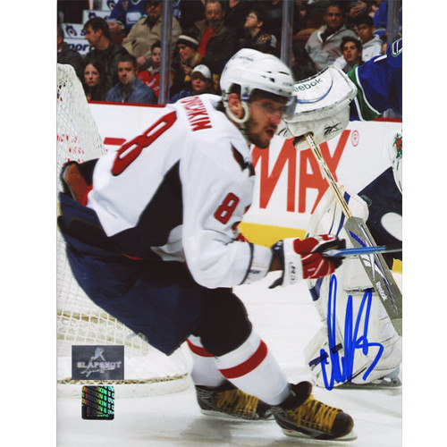 Alexander Ovechkin Washington Capitals Autographed Puck Chaser 8x10 Photo
