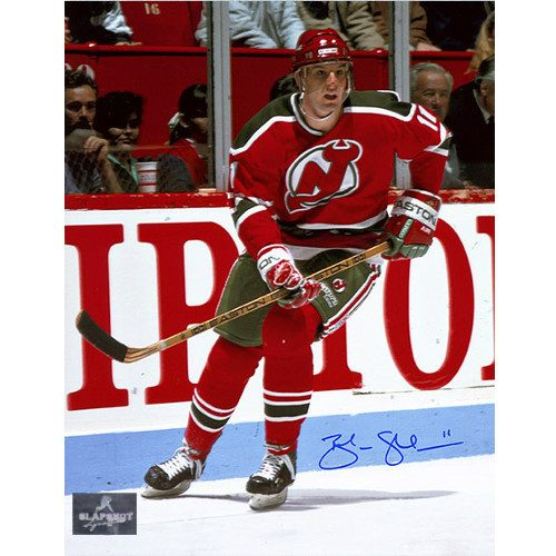 Brendan Shanahan New Jersey Devils Autographed Photo 8x10