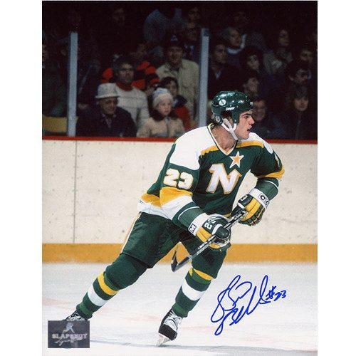 Brian Bellows Minnesota North Stars Autographed 8x10 Photo