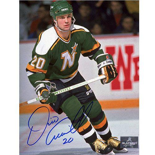 Dino Ciccarelli Minnesota North Stars Signed Hockey 8x10 Photo