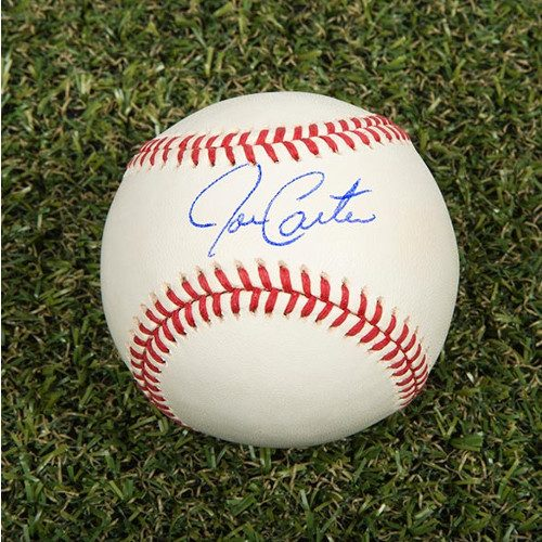 Joe Carter Signed Baseball Toronto Blue Jays Rawlings MLB Baseball