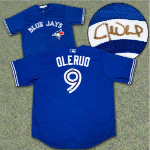 John Olerud Jersey-Toronto Blue Jays Signed MLB Baseball Jersey
