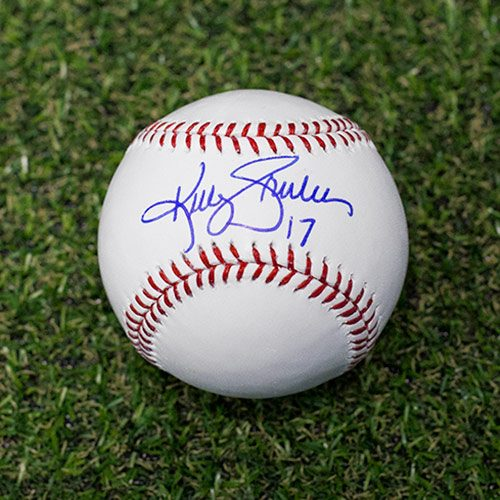 Kelly Gruber Signed Baseball Toronto Blue Jays Rawlings Official MLB Baseball