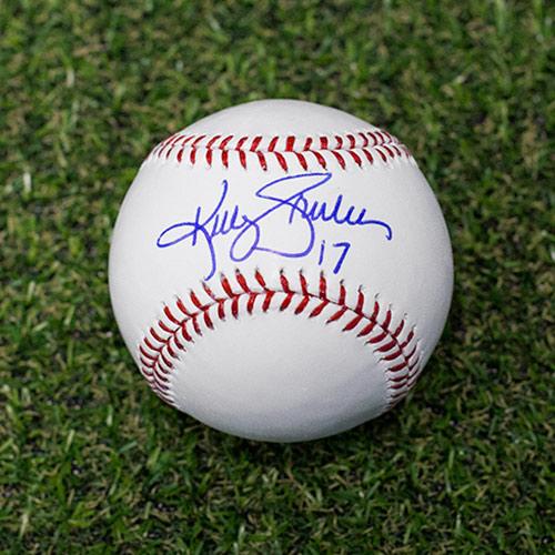 Kelly Gruber Signed Baseball Toronto Blue Jays Rawlings Official MLB Baseball