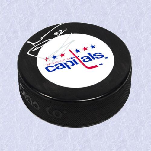 Lou Franceschetti Washington Capitals Autographed Hockey Puck