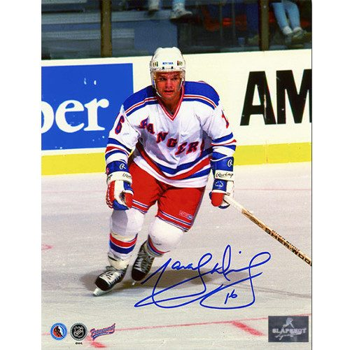Marcel Dionne New York Rangers Autographed 8x10 Photo
