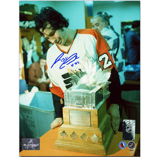 Reggie Leach Conn Smythe Philadelphia Flyers Signed 8x10 Photo