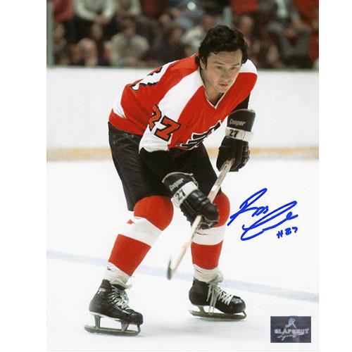 Reggie Leach Pictures Autographed Philadelphia Flyers 8x10 Photo