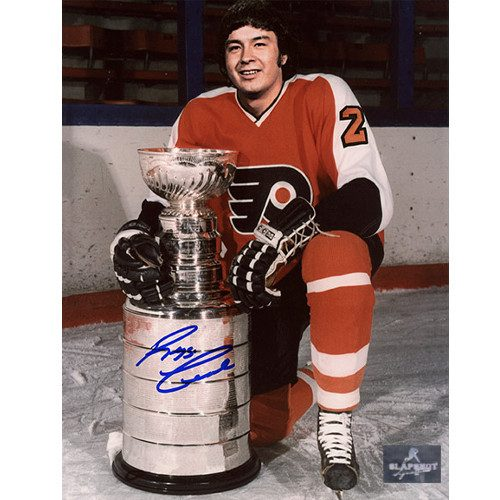 Reggie Leach Stanley Cup Philadelphia Flyers Signed 8x10 Photo