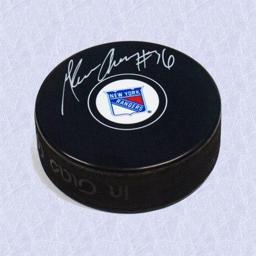 Glenn Anderson New York Rangers Autographed Hockey Puck