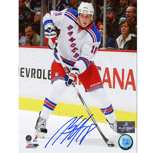 Marc Staal New York Rangers Autographed Action 8x10 Photo