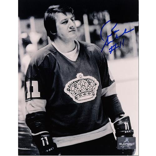 Pete Stemkowski Los Angeles Kings Autographed Closeup Still 8x10 Photo