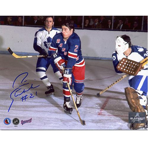 Pete Stemkowski New York Rangers Autographed Action 8x10 Photo