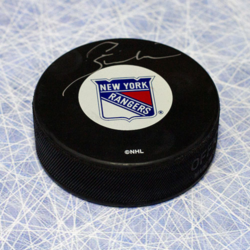 Pete Stemkowski New York Rangers Autographed Hockey Puck