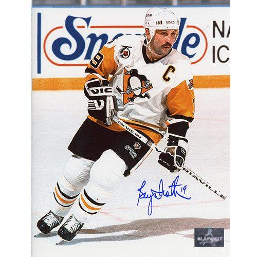 Bryan Trottier Pittsburgh Penguins Autographed Captain 8x10 Photo