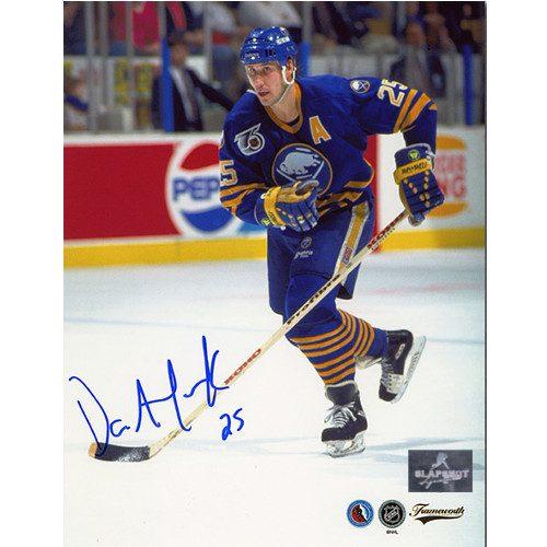 Dave Andreychuk Buffalo Sabres Autographed Skating 8x10 Photo
