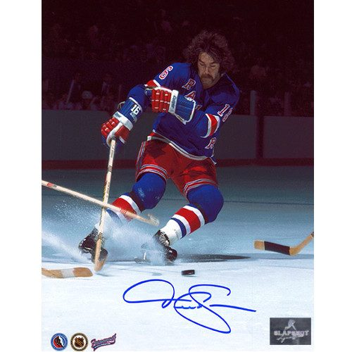 Derek Sanderson New York Rangers Autographed 8x10 Photo
