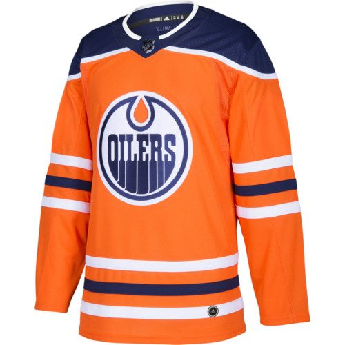 Edmonton Oilers Adidas Authentic Home NHL Jersey