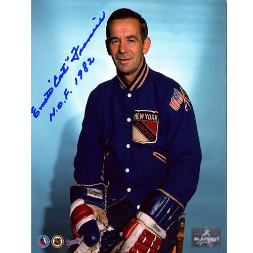 Emile Francis Coach-New York Rangers Autographed 8x10 Photo