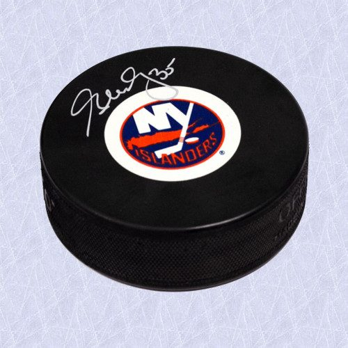 Glenn Healy New York Islanders Autographed Hockey Puck