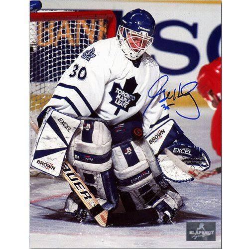 Glenn Healy Toronto Maple Leafs Autographed 8x10 Photo