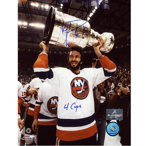 Ken Morrow Stanley Cup New York Islanders Autographed 8x10 Photo