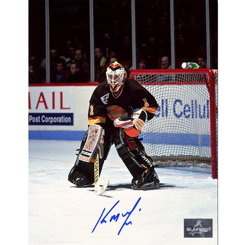 Kirk McLean Goalie Vancouver Canucks Autographed 8x10 Photo