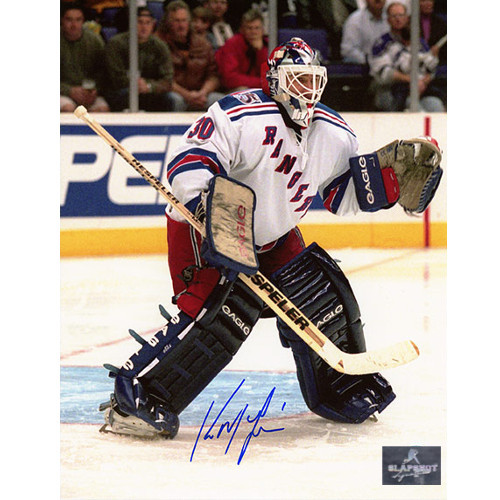 Kirk McLean New York Rangers Autographed Goalie 8x10 Photo