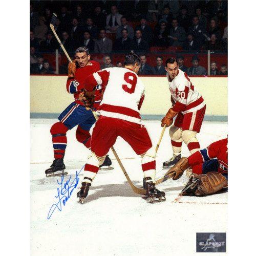 Lou Fontinato Montreal Canadiens Autographed 8x10 Photo