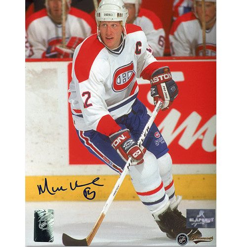 Mike Keane Captain Montreal Canadiens Autographed 8x10 Photo