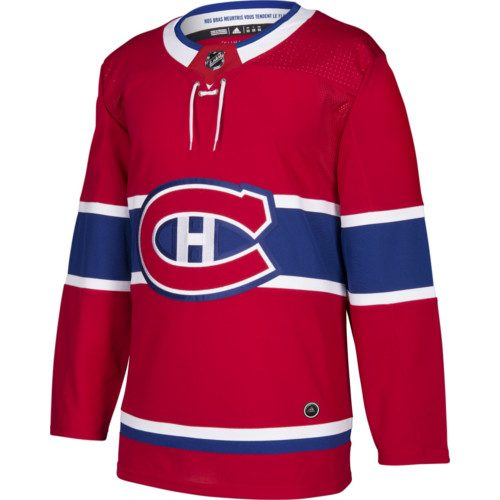 Montreal Canadiens Adidas Jersey Authentic Home NHL
