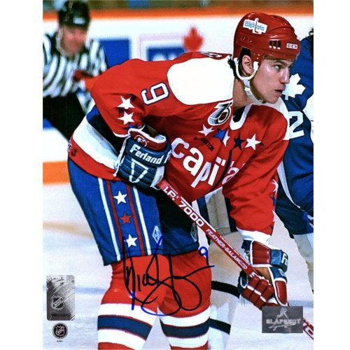 Nick Kypreos Washington Capitals Autographed Hockey 8x10 Photo