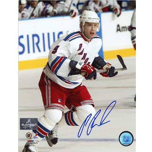 Pavel Bure NY Rangers Autographed 8x10 Photo