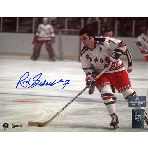 Rod Gilbert New York Rangers Autographed Playmaker 8x10 Photo
