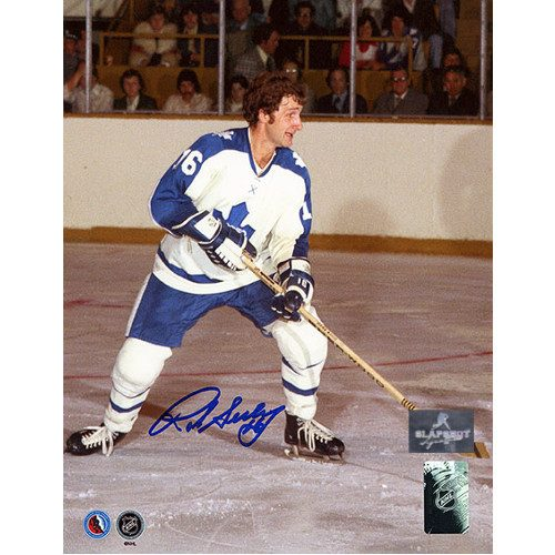 Rod Seiling Toronto Maple Leafs Autographed 8x10 Photo