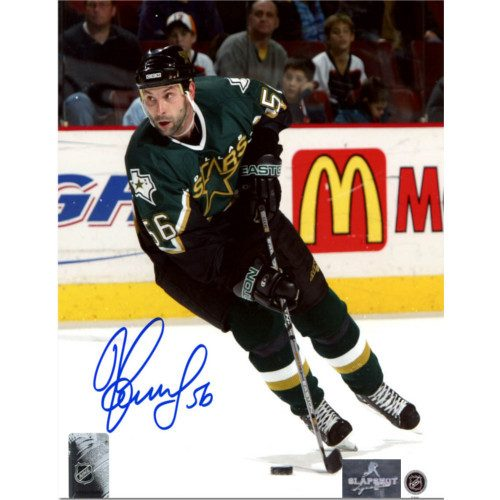 Sergei Zubov Dallas Stars Autographed Hockey 8x10 Photo