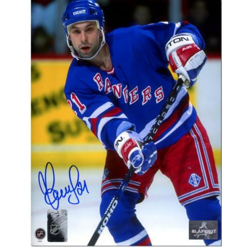 Sergei Zubov New York Rangers Autographed Hockey 8x10 Photo
