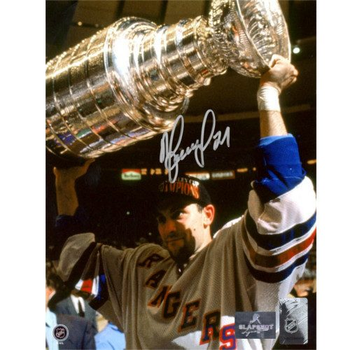 Sergei Zubov NY Rangers Autographed 1994 Stanley Cup 8x10 Photo
