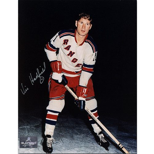Vic Hadfield New York Rangers Autographed 8x10 Photo