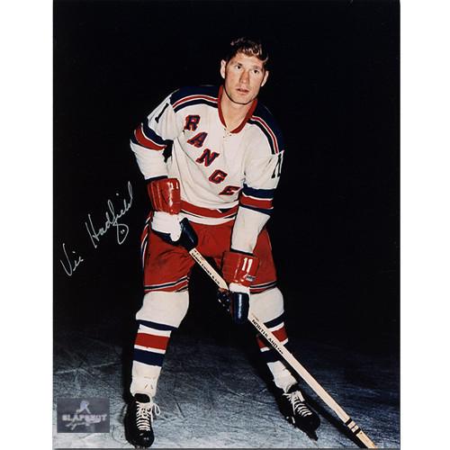 Vic Hadfield New York Rangers Autographed 8x10 Photo