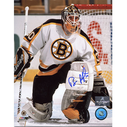 Bill Ranford Boston Bruins Autographed Goalie 8x10 Photo