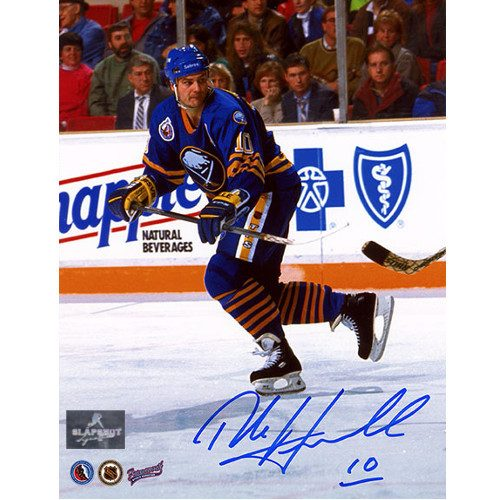 Dale Hawerchuk Buffalo Sabres Autographed Action 8x10 Photo