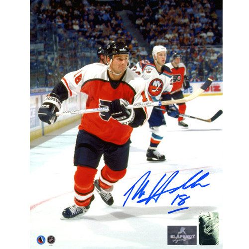 Dale Hawerchuk Philadelphia Flyers Autographed 8x10 Action Photo
