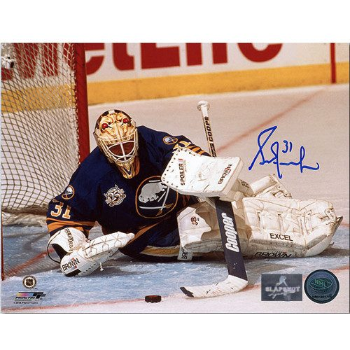 Grant Fuhr Buffalo Sabres Autographed Goalie 8x10 Photo