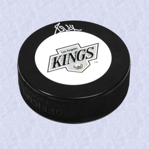 Grant Fuhr Los Angeles Kings Autographed Hockey Puck