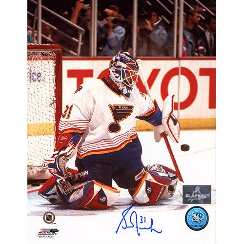 Grant Fuhr St. Louis Blues Autographed Goalie 8x10 Photo