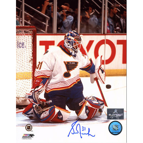 Grant Fuhr St. Louis Blues Autographed Goalie 8x10 Photo