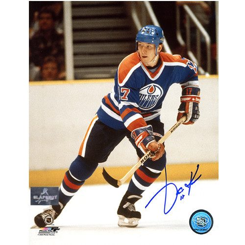 Jari Kurri Edmonton Oilers Autographed Hockey 8x10 Photo