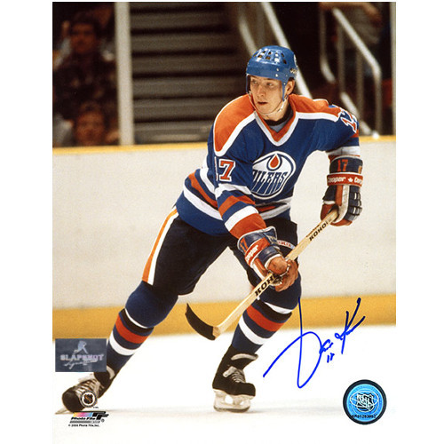 Jari Kurri Edmonton Oilers Autographed Hockey 8x10 Photo